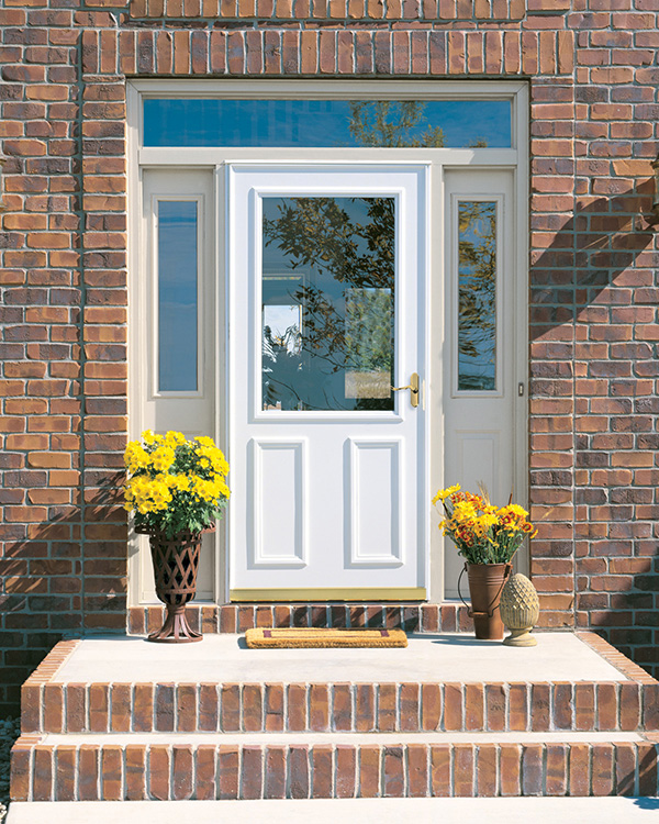 Front doors entry doors patio doors storm doors for Front entry doors with storm door