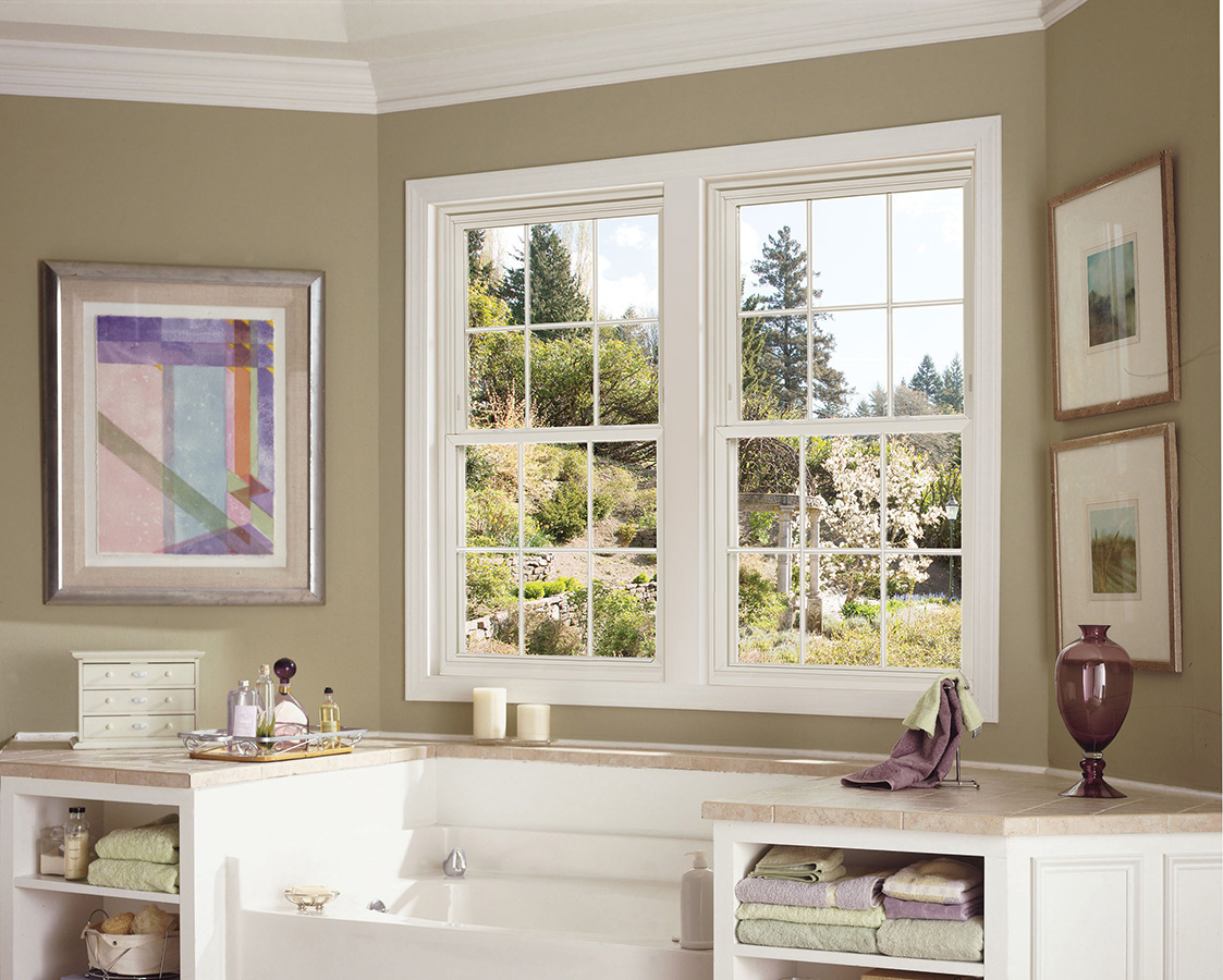 4000 Series Double Hung : Window world product photo gallery des moines ia